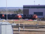 CN 408s power & CN 4724 at Gordon Yard