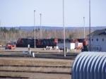CN 406 & 537 resting at Gordon Yard