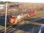 CN 537 at Gort w/ 1 CAR