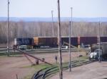 CN 539 departing Gordon Yard