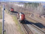 CN 569 & 537 at Gort