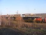 CN 405 arriving at Gordon Yard with a nice lashup