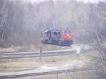 CN 407 with INTERMODAL