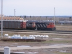 CN shunter & the Tail-End of 407