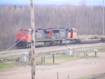 CN 407 with INTERMODAL at Gort