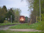 CN 405 at Petitcodiac