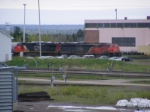 CN 407/408's power at Gordon yard