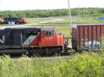 CN 405 & the yard shunters at Gordon Yard