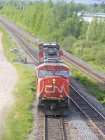 CN 405 light move at Gort
