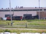 CN 474's power resting at Gordon Yard