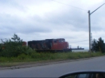 CN 539 crossing Edinburgh Dr.