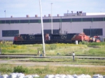 CN 407's power at Gordon Yard