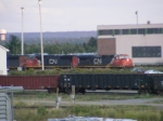 CN 408 at Gordon Yard