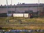 CN test train 912 at Gordon Yard
