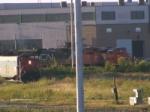 Three engine line-up at Gordon Yard
