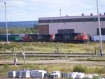 CN 407's power at Gordon yard