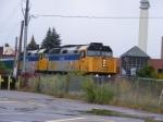 VIA 15 arriving at Moncton