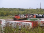 CN yard assignment at Gort