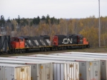 CN 535 arriving at Gordon Yard