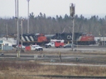 CN 4143 & 5648 at Gordon Yard