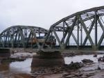 VIA 15 crossing the Tantramar River