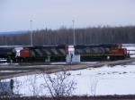 CN yard assignment at Gordon Yard