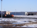 CN 5631 & yard assignment at Gordon Yard