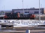 CN 537 at Gordon Yard