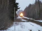 CN 594 light move at Upper Mtn. Road