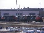 CN 406 at Gordon Yard