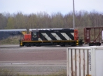 CN 535 doing they're brake test