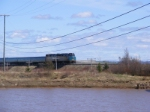 VIA 15 crossing the Tantramar River