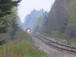CN 406 passing Lower Mtn. Rd.
