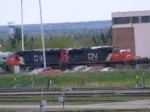 CN 408 at Gordon Yard