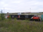 CN 406 arriving at Gordon Yard