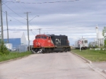 CN 539 on the Franklin spur