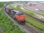 CN 305 at Gordon Yard