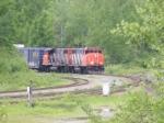 CN 406 arriving at Gordon Yard