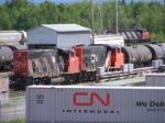 CN widecab fest at Gordon Yard
