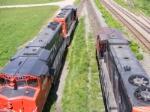 CN 535 & 539 at Gort