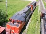 CN 535 at Gort