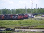 CN 406 & Y-A at Gordon Yard