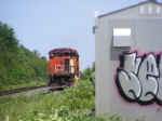 CN 539 at Painsec Junction west