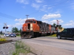 CN 539 departing Painsec Junction siding