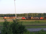 CN 406 & 408 at Gordon Yard