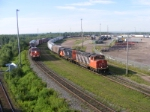 CN 305 & 539 at Gordon Yard