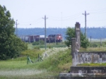 CN 407 nearing Sackville