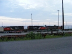 CN 473 at Gordon Yard w/ OLD SCHOOL power