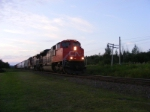 CN 408 at Memramcook