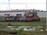 CN 408 & Y-A at Gordon Yard